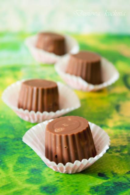 czekoladki z galaretką, pralinki z galaretką,
