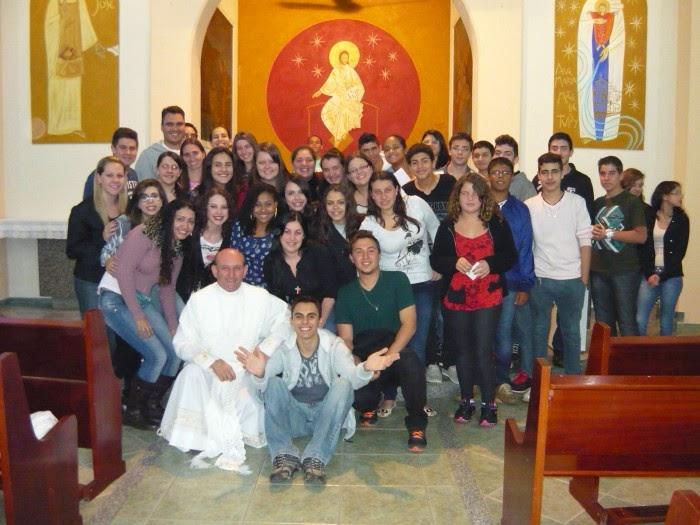 MISSA de ENVIO dos MISSIONÁRIOS 17 julho 2013:
