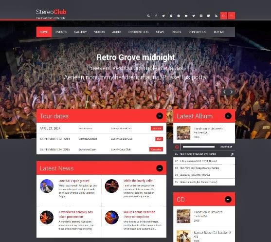 StereoClub / NightClub & Music WordPress Theme