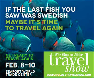 Boston Globe Travel Show promo