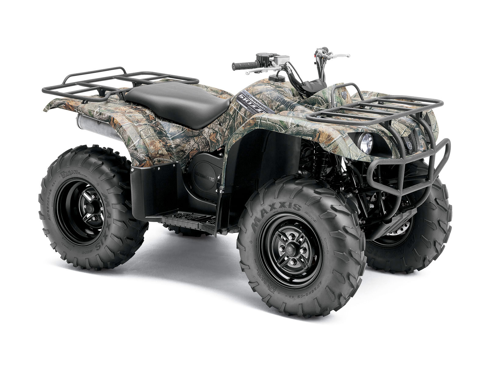 2012 yamaha grizzly 350 auto 4x4 atv pictures for Yamaha grizzly atv