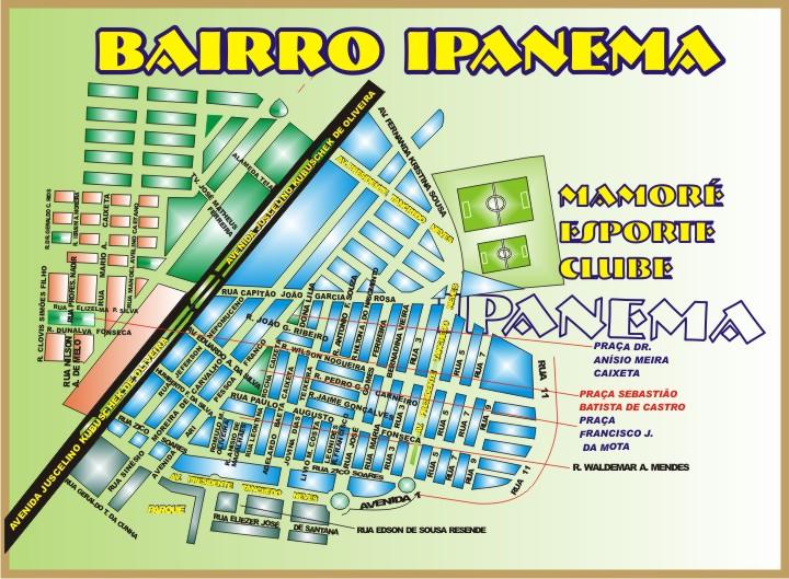 Bairro Ipanema - Patos de Minas