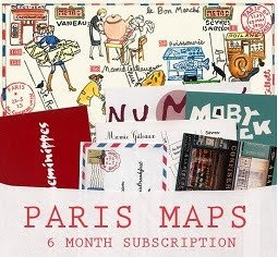 PARIS Maps on Etsy
