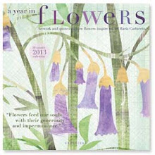 A year in flowers calendar