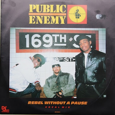 Public Enemy – Rebel Without A Pause / Bring The Noise (VLS) (1987) (VBR)
