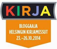 Bloggaajana kirjamessuilla 2014