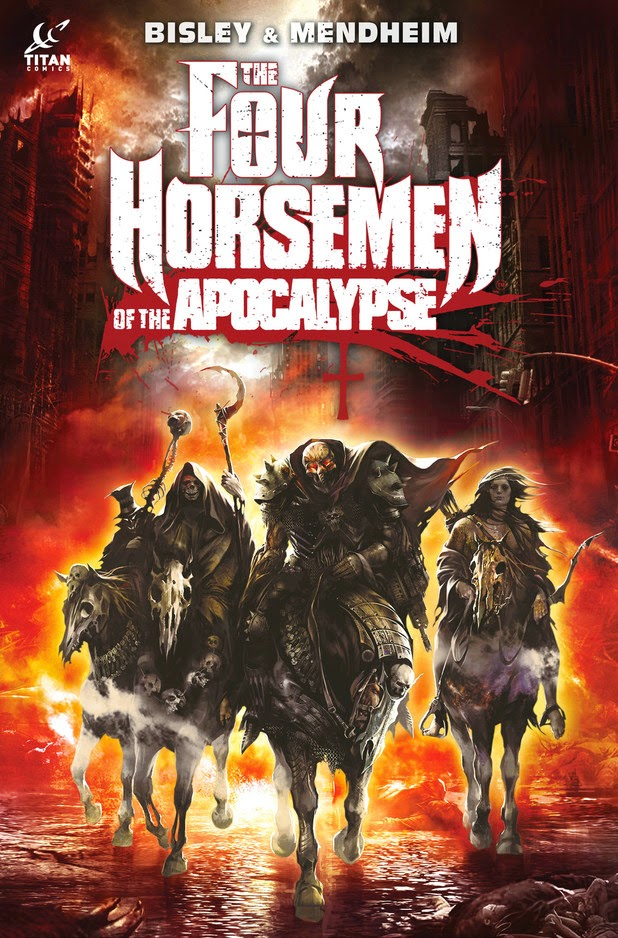 four horsemen of the apocalypse graphic novel