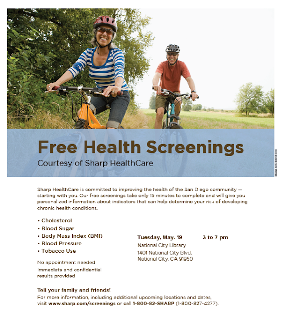 Sweetwater High Counseling Center: Free Health Screenings ...