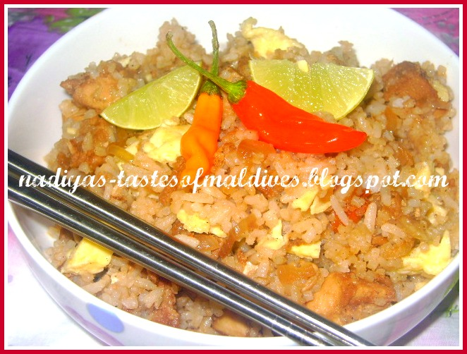 how to cook rice with chicken stock cubes