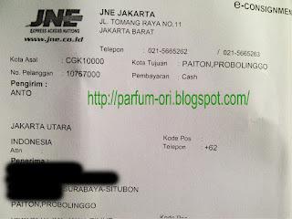 Pengiriman Parfum ke Probolinggo, Jawa Timur
