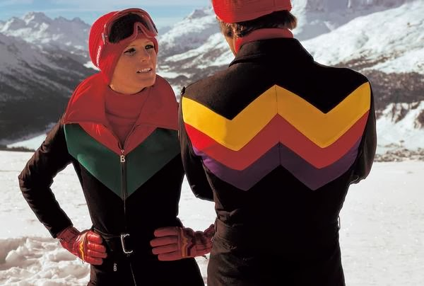Formula W ski suits with W-shaped contours - Ph:Willy Bogner GmbH & Co. KGaA