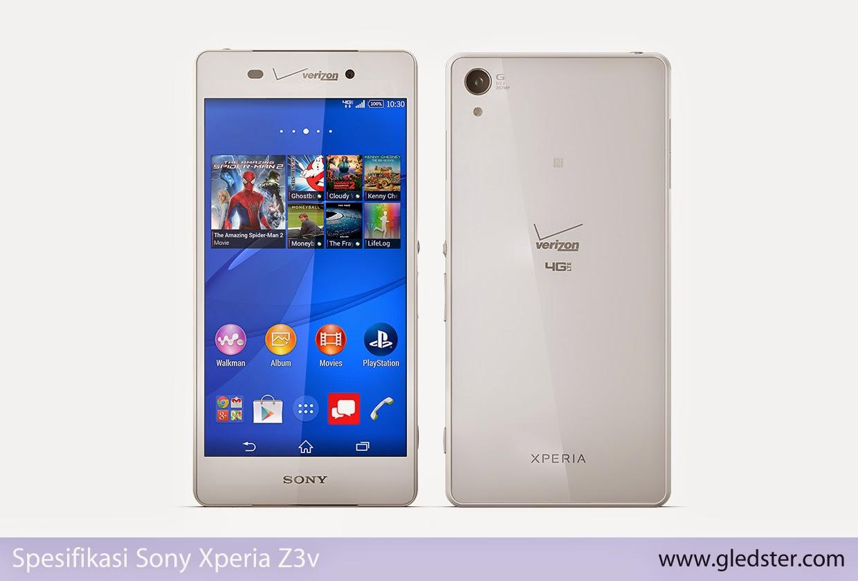 Spesifikasi Sony Xperia Z3v