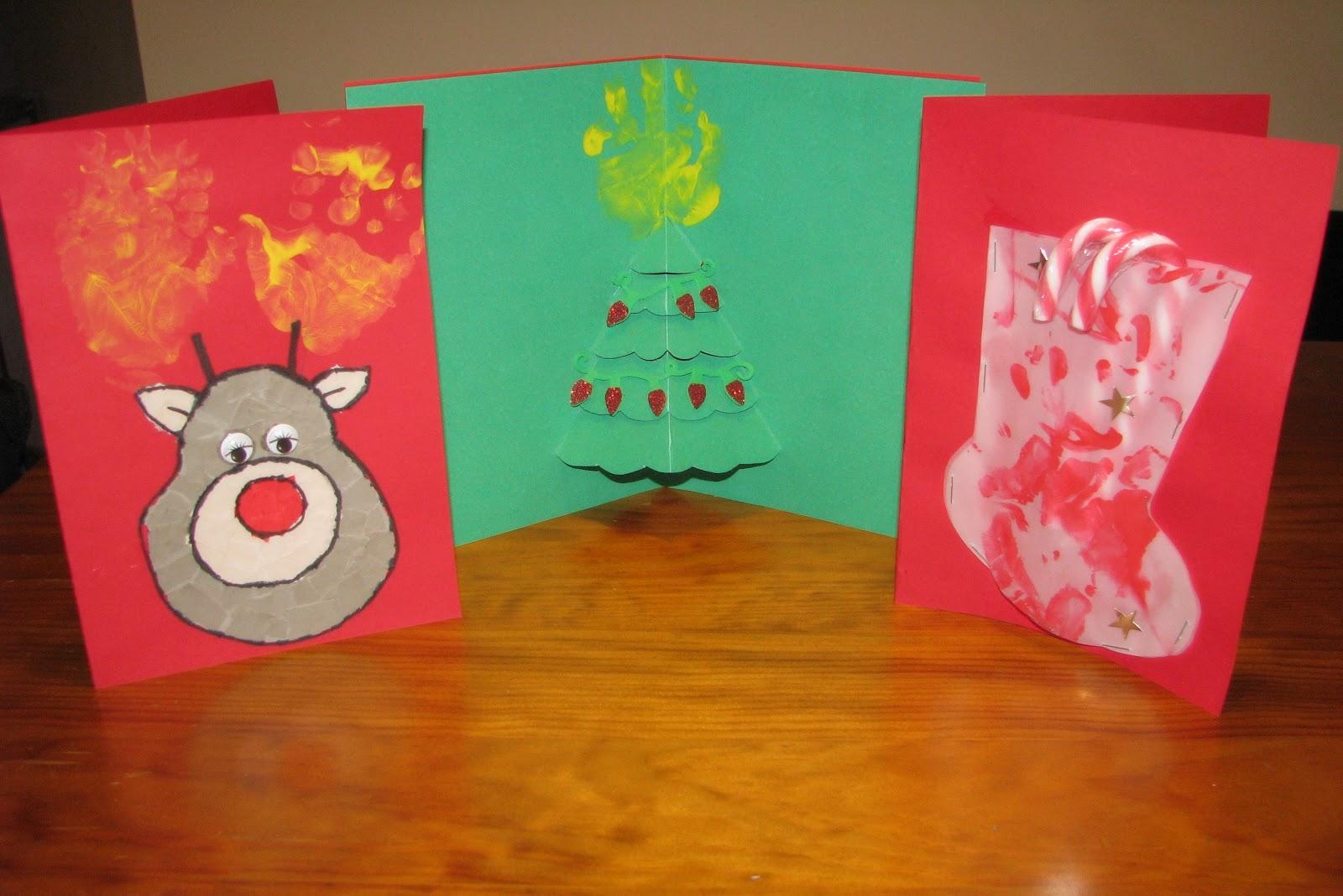 Latte Mum: Homemade Christmas Cards