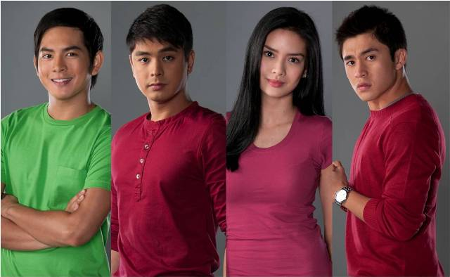 Catch Coco Martin, Erich Gonzales, Arron Villaflor and Neil Coleta in San Pablo, Laguna this April 27