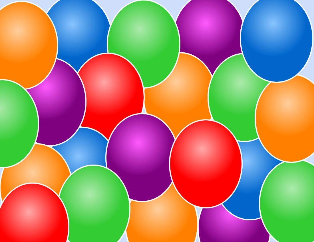 Birthday balloon backgrounds