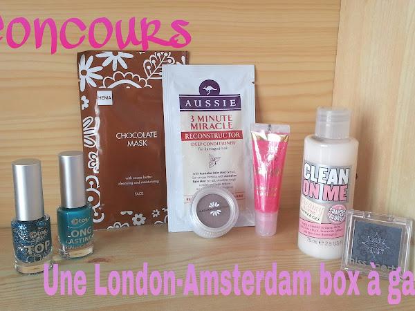 A gagner : La London - Amsterdam box (concours pour les blogueuses) !