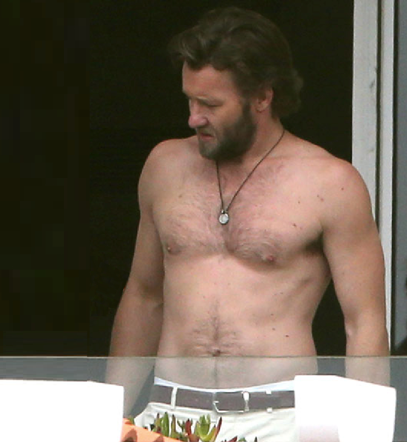 My New Plaid Pants These Shirtless Pics Of Joel Edgerton