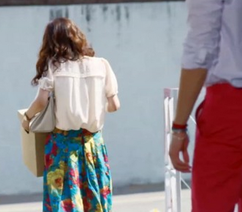 """""""Fated to love you, You're my destiny"""" Kim Mi Young's Skirt"""