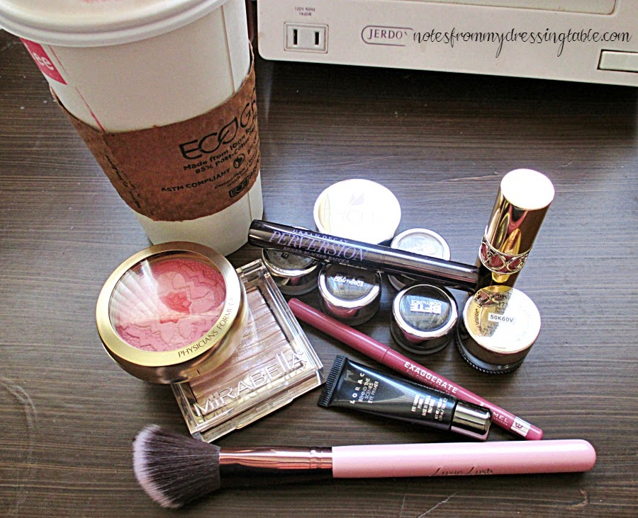 An Easy Smokey Eye Look Products Used and Latte notesfrommydressingtable.com