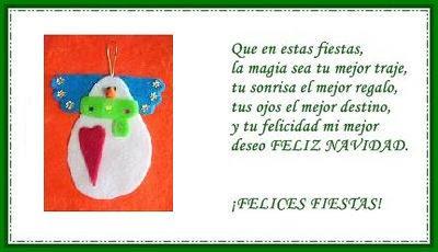 Tarjetas navide as recrear manualidades arte - Postales navidenas creativas ...