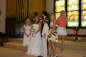 All the Grandkids at Laura's Wedding