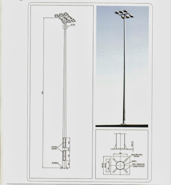 Light Pole Definition: OIL AND GAS ELECTRICAL AND INSTRUMENTATION ENGINEERING: 12
