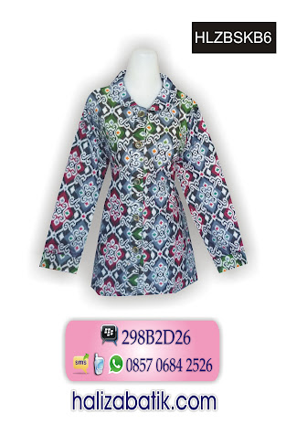 Baju Blus Batik Motif Tenun. 085706842526 INDOSAT, Baju Batik Terbaru, Busana Batik Wanita, Baju Batik Terbaru, HLZBSKB6