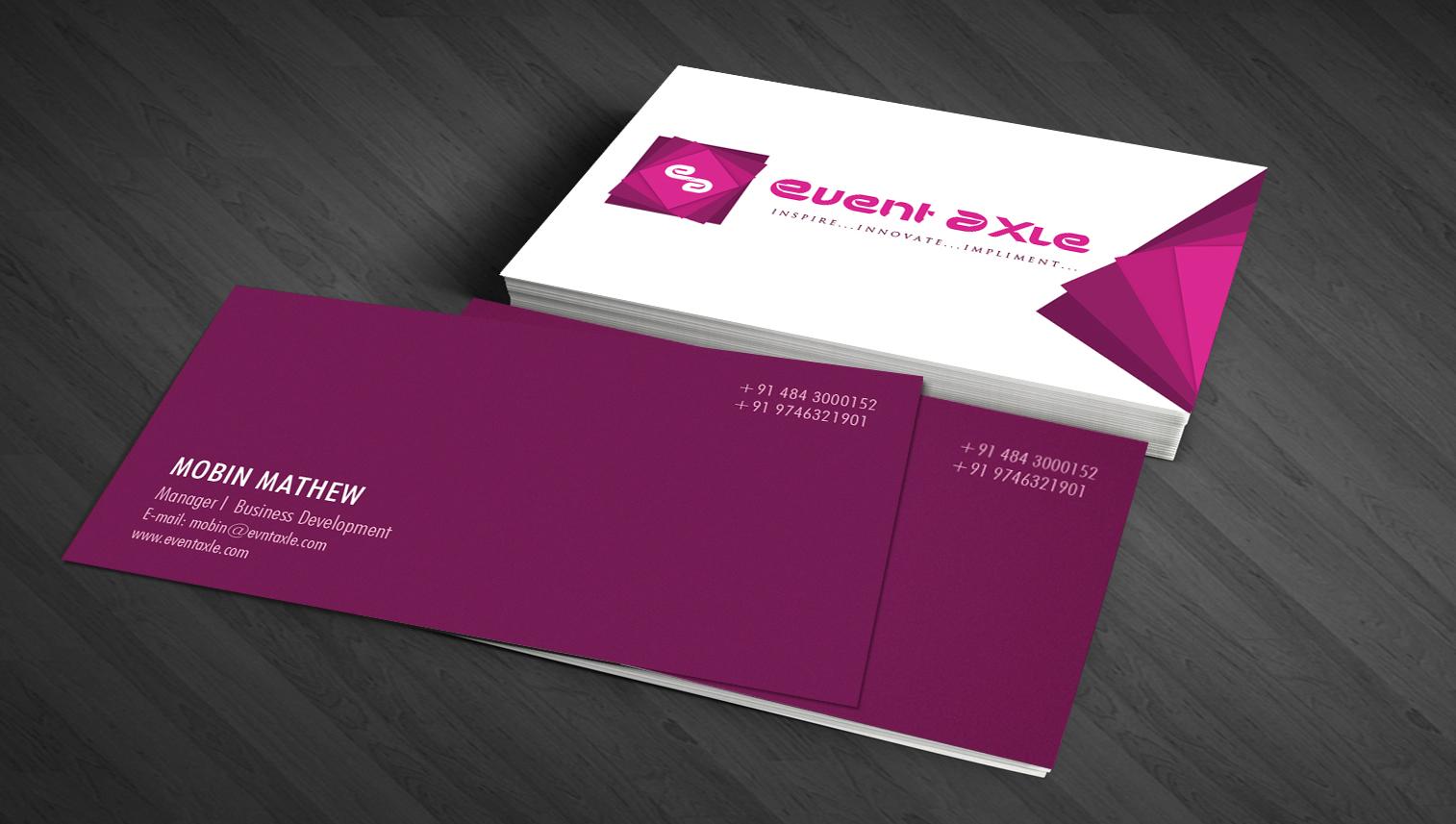 Libin cherian freelance graphic web designer from kerala business card designs reheart Choice Image