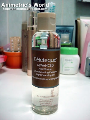 Celeteque Advanced Anti-Wrinkle Ultra Hydrating Cleanser Light Cleansing Oil