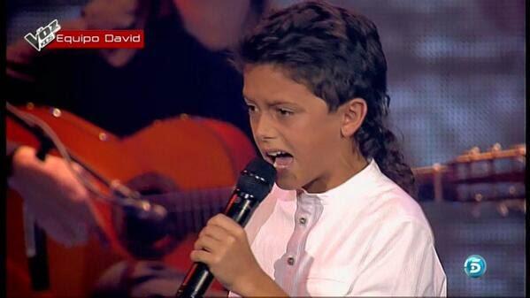 Raúl El Balilla finalista. La Voz Kids