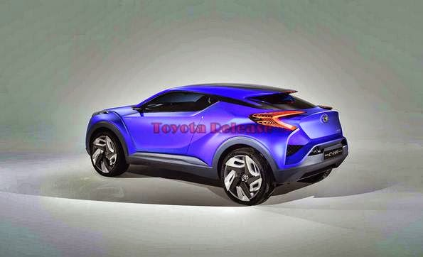 2015 Toyota C-HR Hybrid Concept and Space