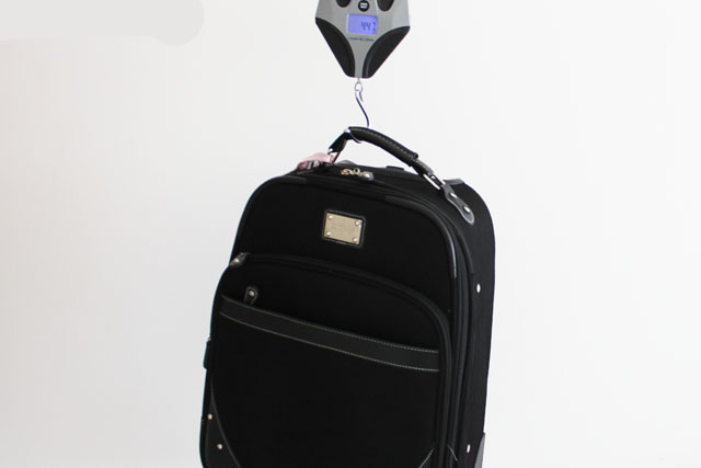 Pesador digital de bagagens