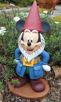 Disney Musings: Mickey Mouse, Gnome Sweet Gnome