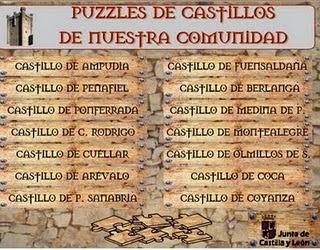 Puzzles castillos reales