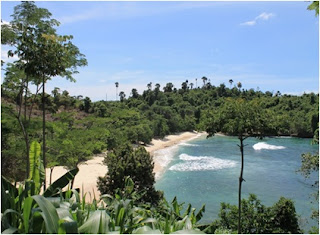 pantai coro tulungagung, rute wisata, surga di pantai selatan