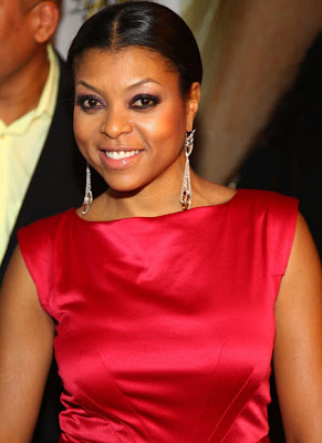 Taraji P Henson Diamond Chandelier Earrings