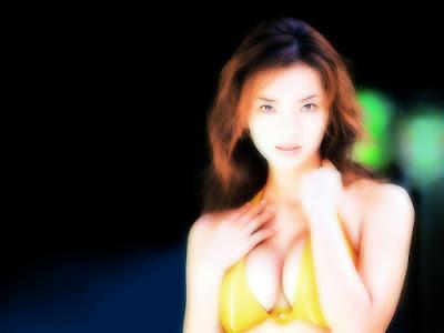 Hot Model Yuko Hamano Wallpaper