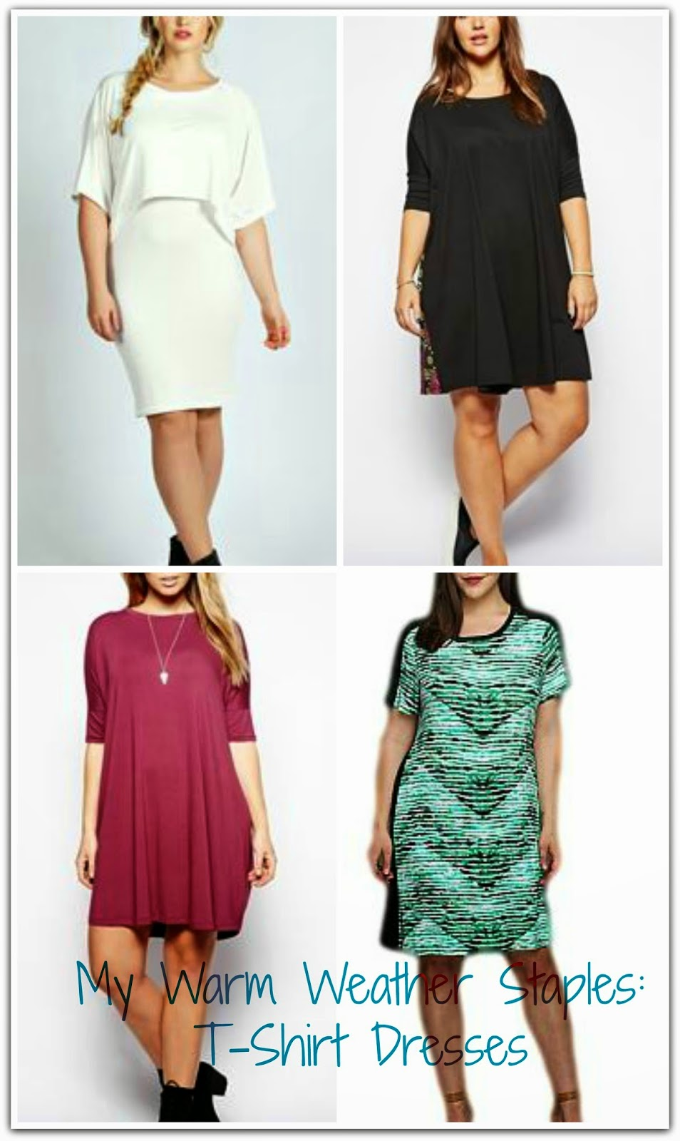 Shopping} Love...Need...Want | T-Shirt Dresses | Curvatude™ - Plus ...