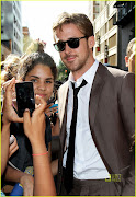 Ryan Gosling Looking Fly On His Way to Letterman ryan gosling letterman