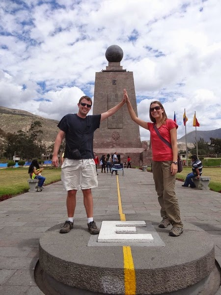 Living the Dream made it to the equator!