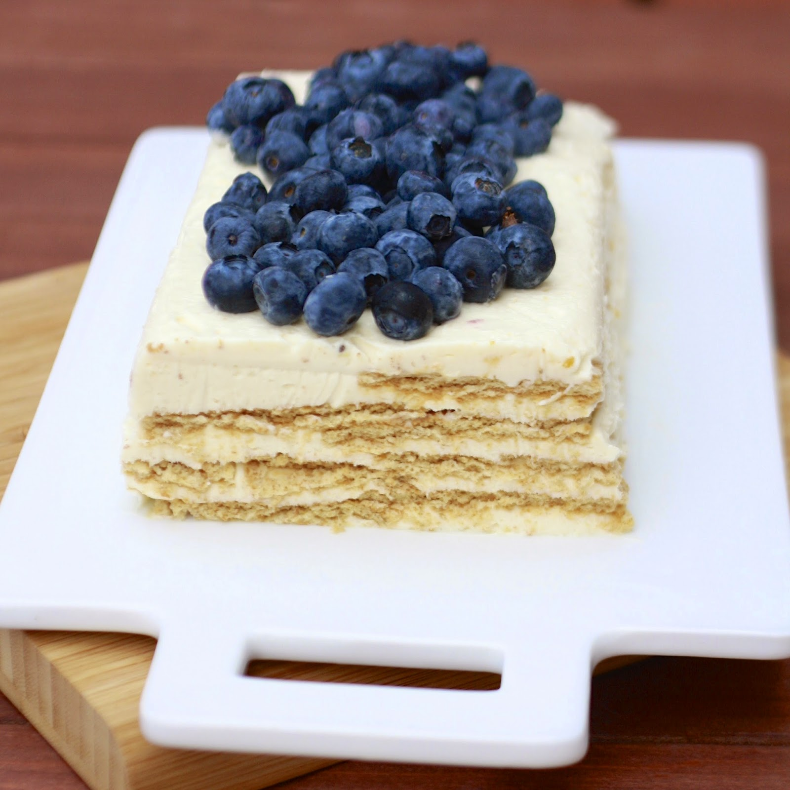 Lemon Layered Cheesecake | The Sweets Life