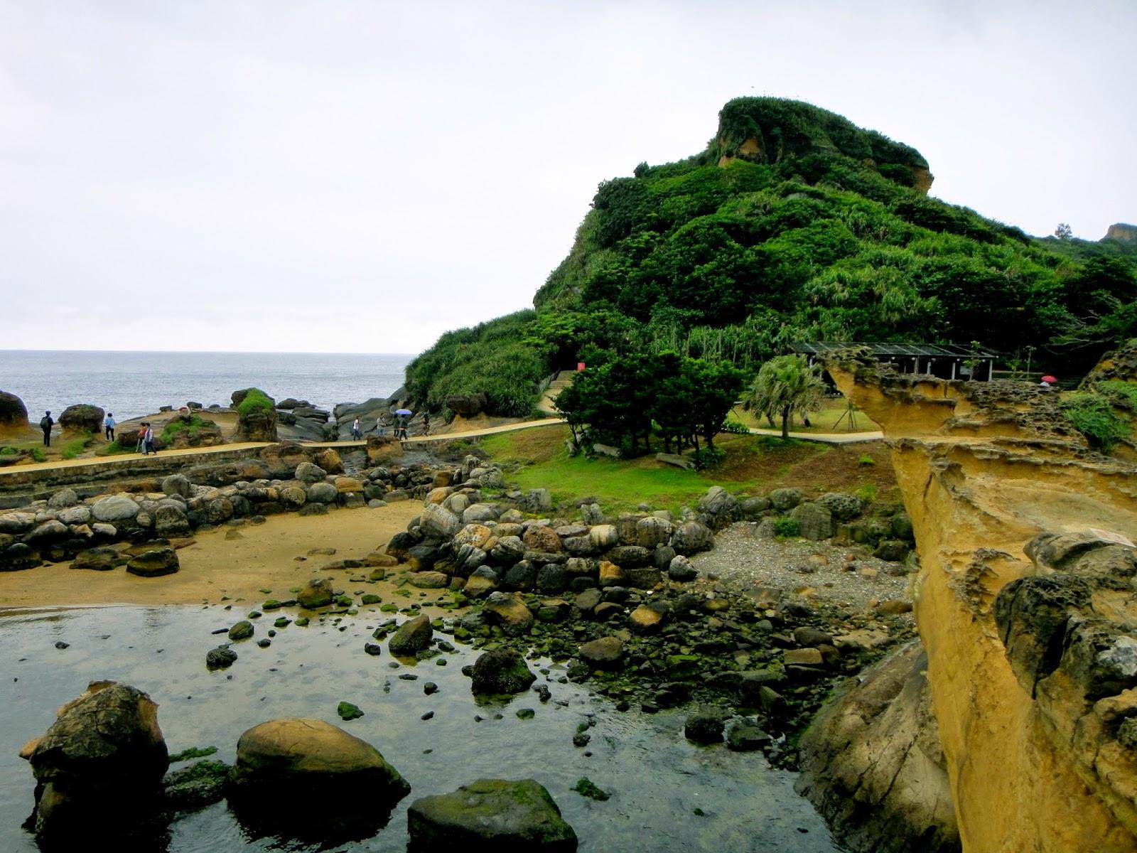 Pathway Yehliu Geopark Taiwan