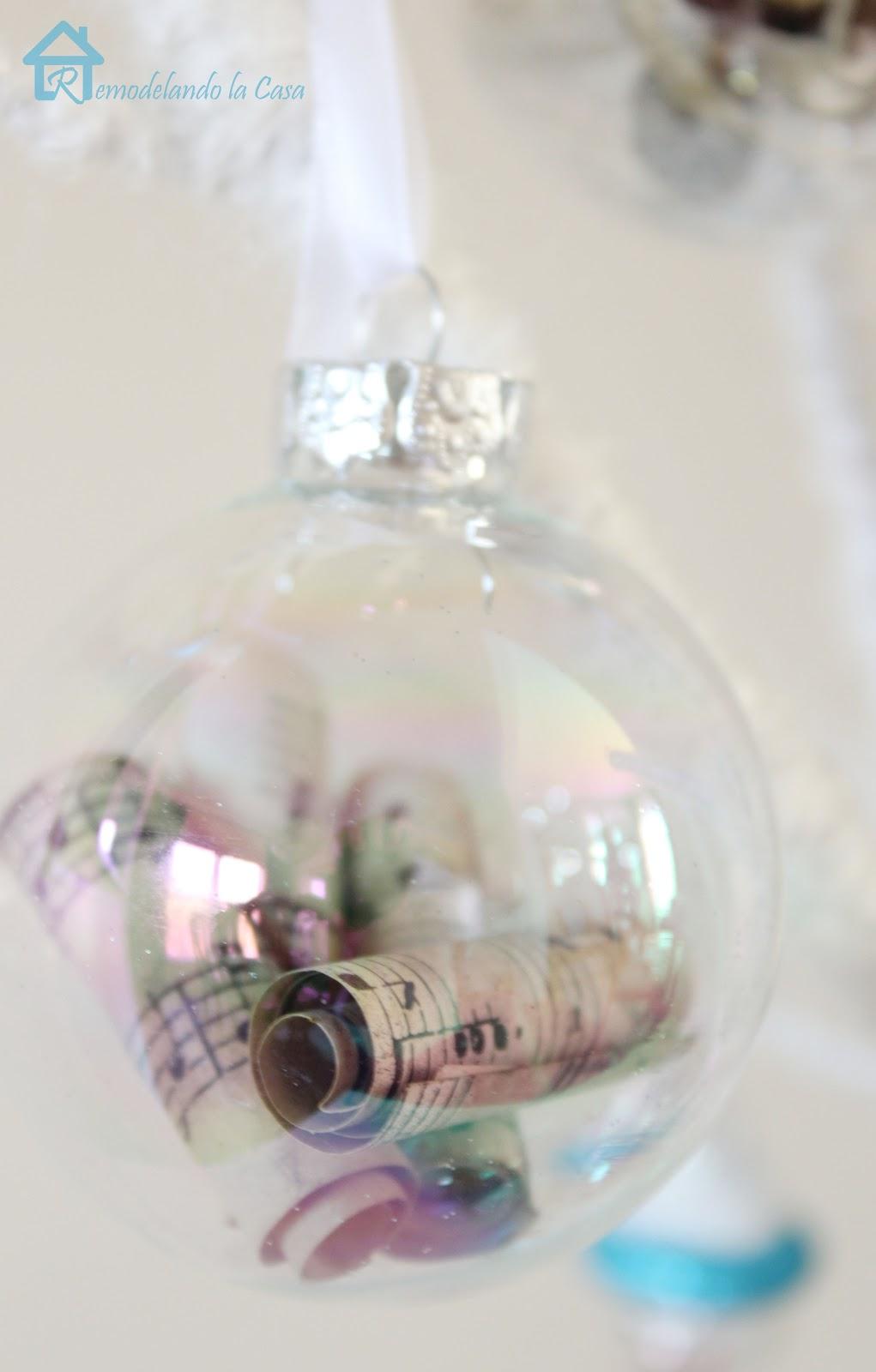 Christmas music ornaments - A Little Tree Christmas