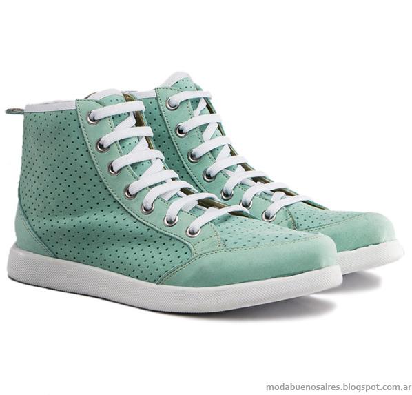 Viamo verano 2014. Sandalias, zapatos, zapatillas, botas y chatas moda 2014.