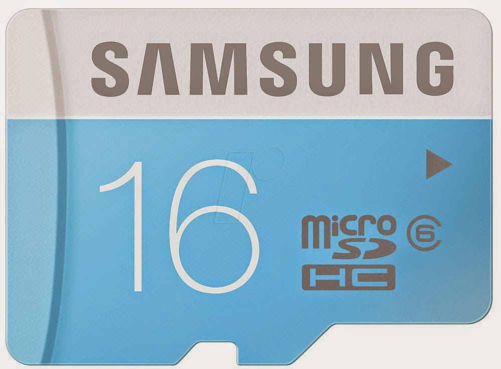Samsung MB-MS04D MicroSDHC 16GB Class 6 Memory Card for Rs 383