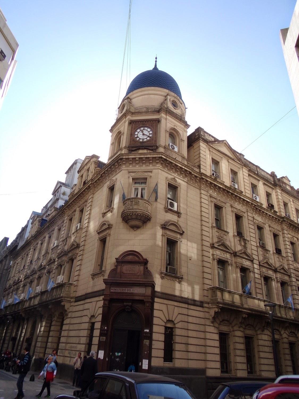 Seren vintage watch gallery reloj edificio ministerio del for Ministerio del interior argentina