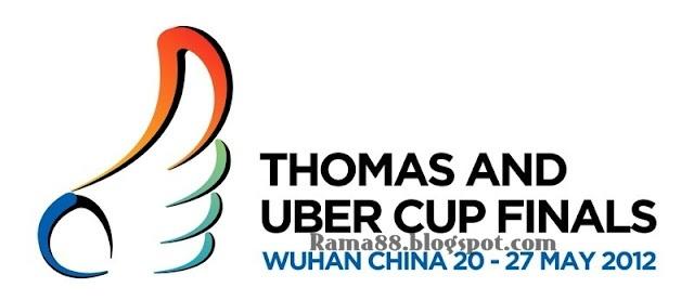 Final Piala Thomas dan Uber Cup 2012