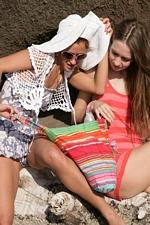 """Masha C. & Mila S. in """"Beach Buddies"""" at Erotic Beauty"""