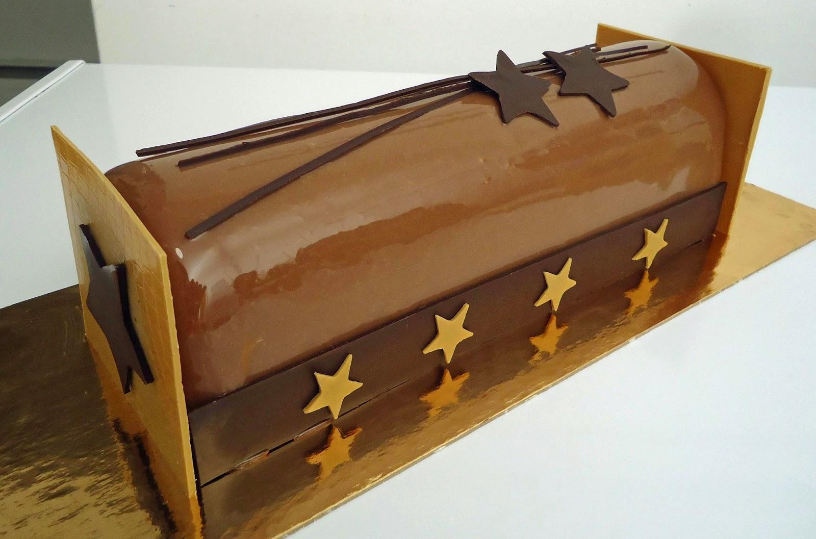 Decoration Buche De Noel En Chocolat