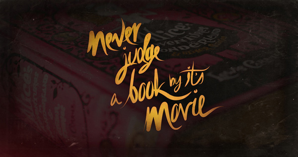bookfangirling never judge a book by it 39 s movie